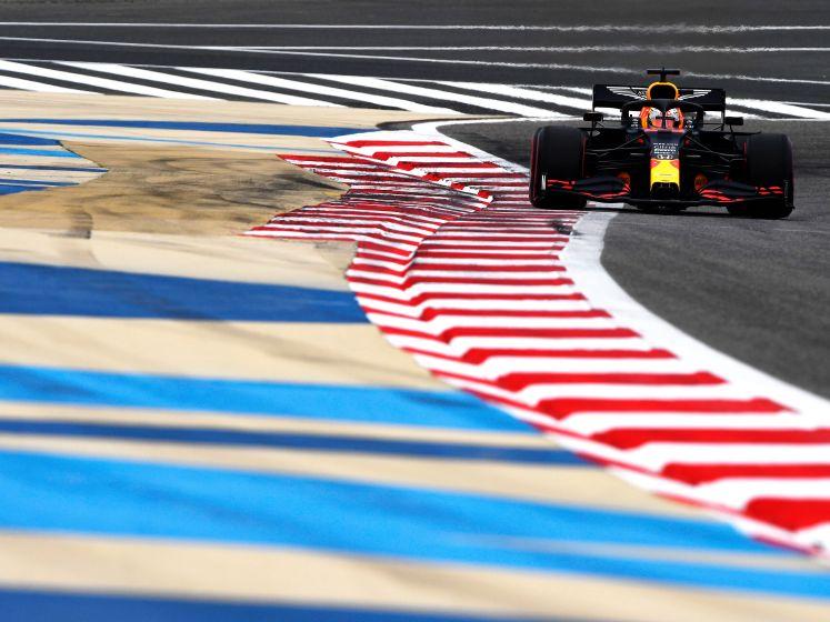 Verstappen snelste in derde vrije training Bahrein