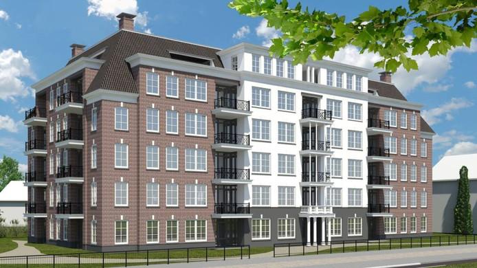 In Apeldoorn is begonnen met de bouw van de Rokade aan de Loolaan.