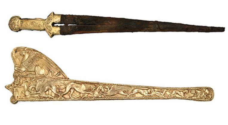Enkele van de schatten van de Krim zoals die te zien waren in het Allard Pierson Museum. Beeld APMuseum