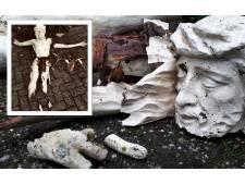 Hij wordt gerepareerd, nagemaakt of er komt een hele nieuwe, maar Jezus zál herrijzen in Lithoijen