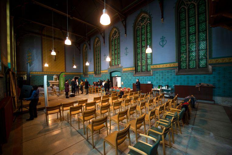 Zorgbedrijf Antwerpen opent het socioculturele centrum De Kapel
