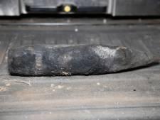 Granaat uit Tweede Wereldoorlog opgevist tijdens zoektocht naar sleutelbos in Den Haag