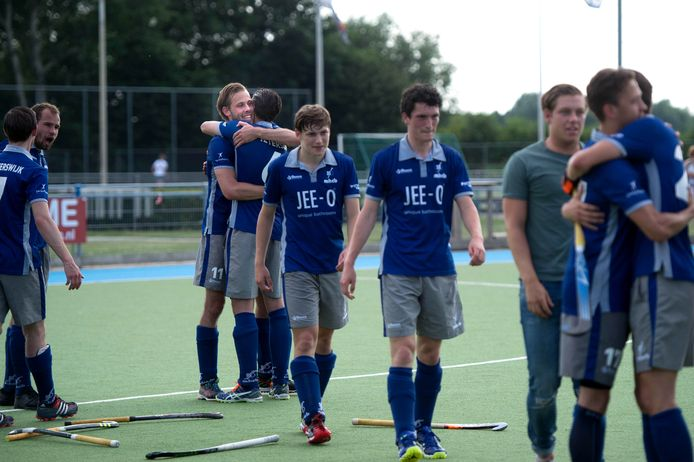 De hockeyers van Beuningen op archiefbeeld.