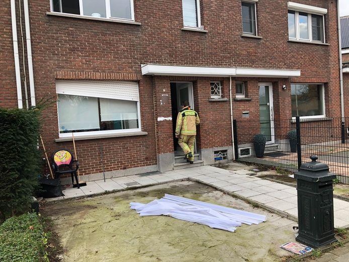 De brand vond plaats in een woning aan de Van Leriuslaan in Boom.