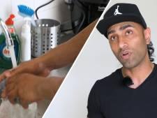 Bodybuilder Mir (37) heeft vijf kinderen en is dol op zijn baan als schoonmaker
