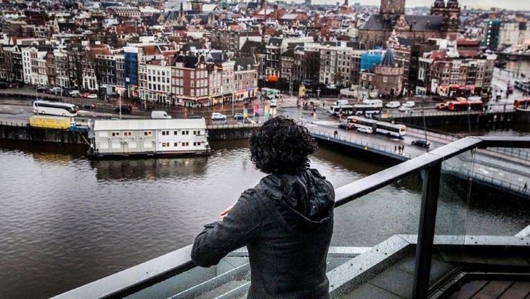 De 31-jarige man in Amsterdam. Beeld Aurélie Geurts