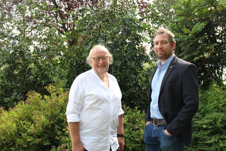 Paul Carteus en Tijl Rommelaere pleiten voor een stedelijk netwerk Vlaamse Ardennen.