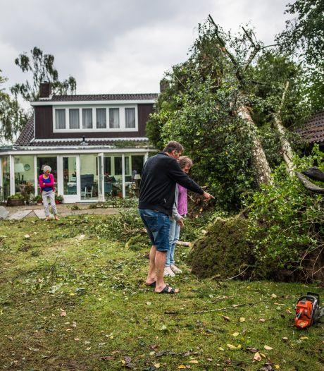 Posbank deels weer open, Rheden likt zijn wonden na de tornado