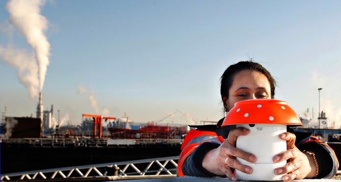 Foto van een Rotterdamse eNose ter illustratie.