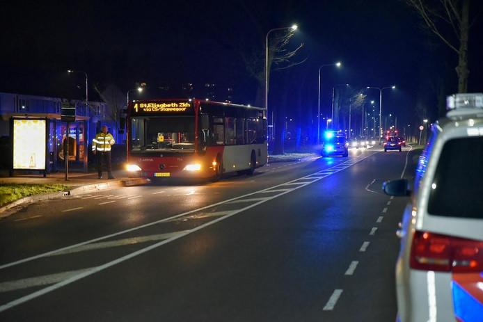 De buschauffeur werd overvallen op de Stokhasseltlaan in Tilburg