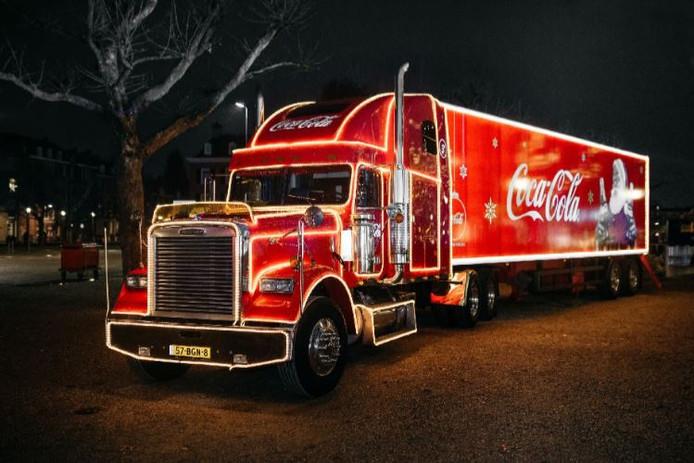 De beroemde Coca Cola-kersttruck