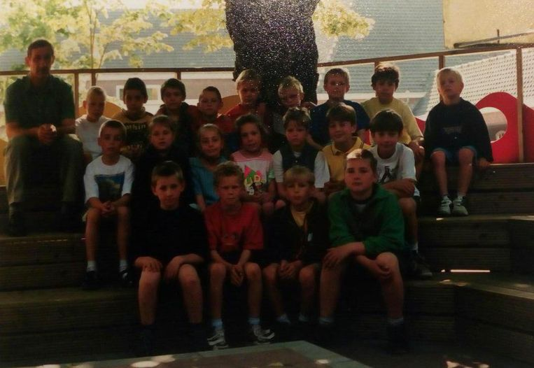 Het derde leerjaar in 2000.