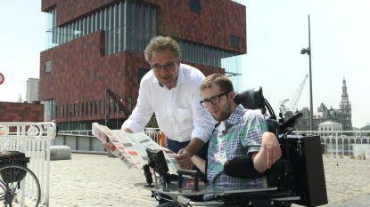 Simon maakt rolstoeltoegankelijke toeristische routes