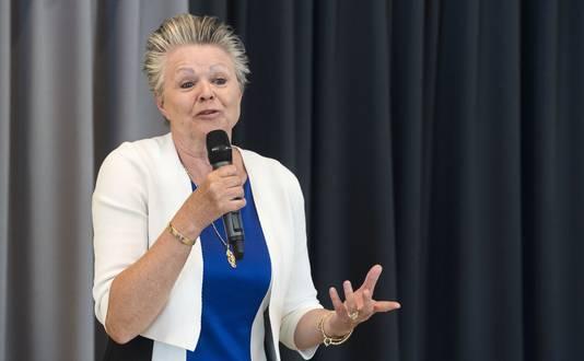 Wethouder Marijke van Haaren.