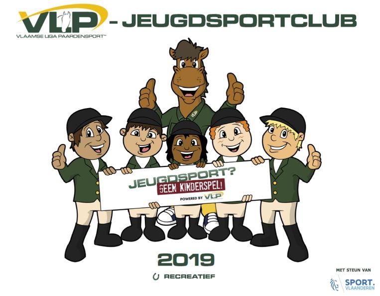 Kwaliteitslabel Jeugdsportclub Vlaamse Liga Paardensport.