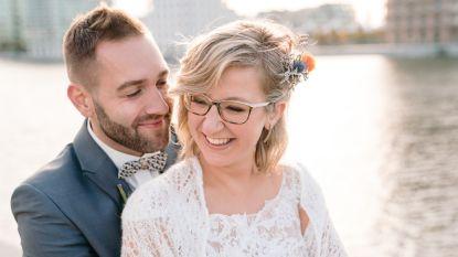 Line en Victor uit 'Blind Getrouwd' gaan hun trouwfeest overdoen