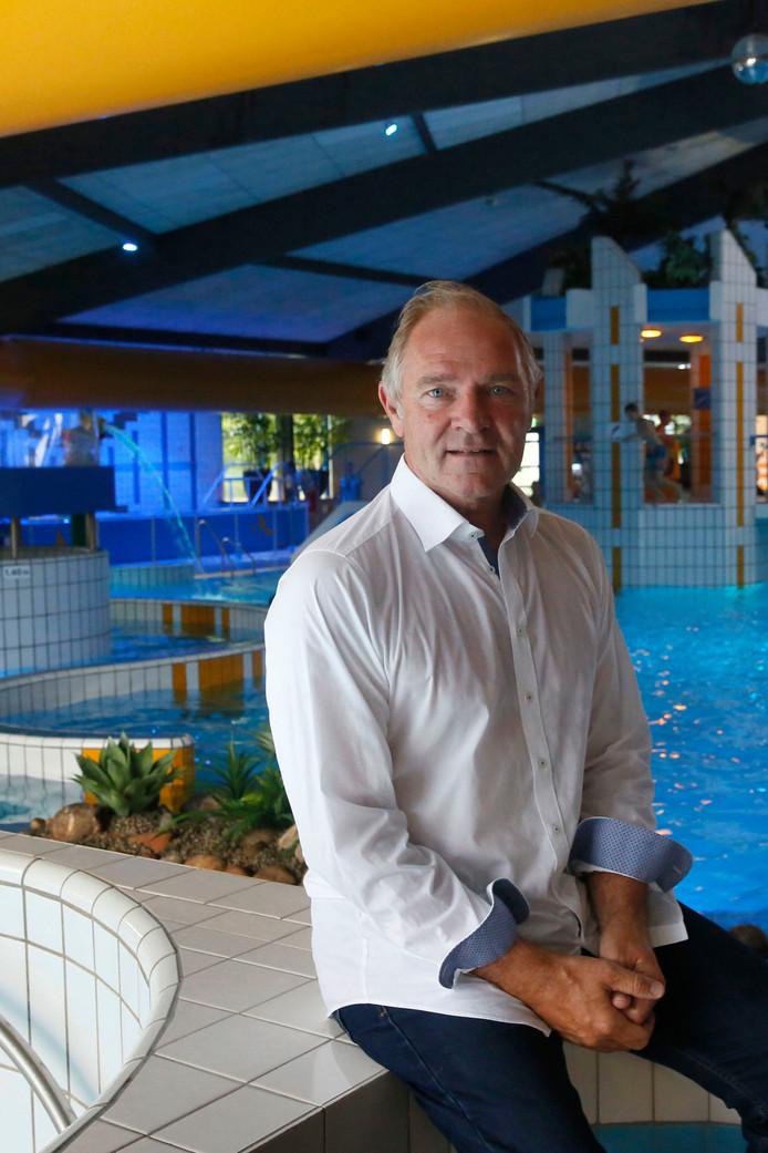 Directeur Rob Koster van het Caribabad in Gorinchem.