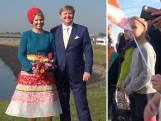 Koning en koningin in Zeeland: 'Dat maak je niet elke dag mee'