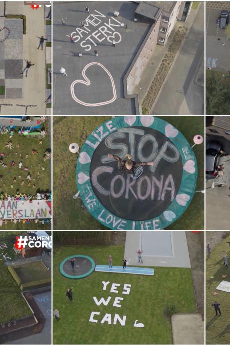 Onze drone vliegt zaterdag over Nijmegen: steek Nederland een hart onder de riem!