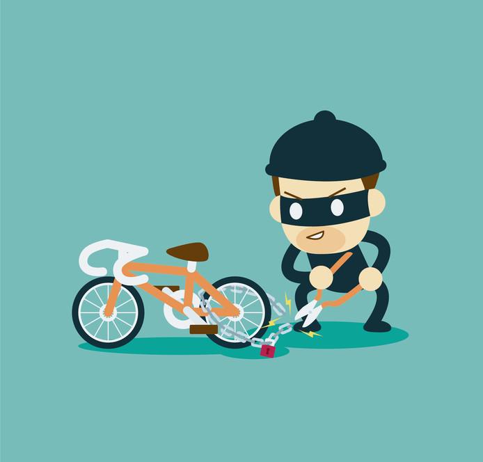 Gezelligheidsvereniging Den Vuilen 'Oek organiseert een fietstocht langs criminele plekken in Breda. De opbrengst gaat naar de stichting Zorgmarkt Breda.