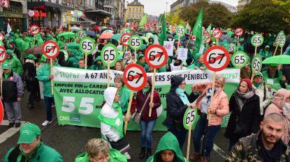Overal acties tegen pensioenbeleid