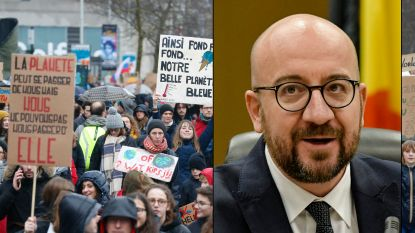 """Premier Michel wil eisen klimaatbetogers laten becijferen, """"maar maatregelen mogen niet ten koste gaan van koopkracht"""""""