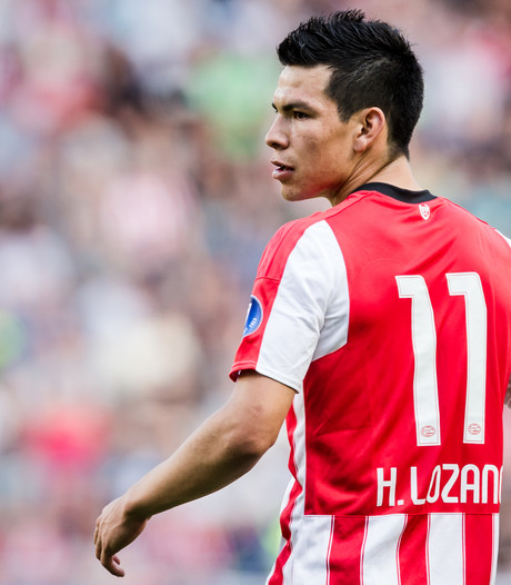 PSV met Lozano terug in de basis, Luuk de Jong blijft staan