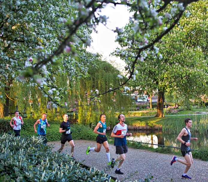 Koningsloop in het Koningspark in Raamsdonksveer.