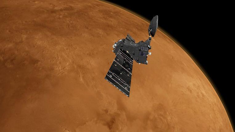 De ruimtesonde ExoMars.
