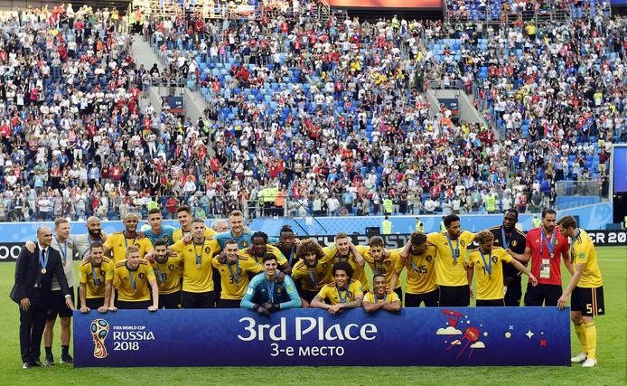 Les Diables présents à la Coupe du monde