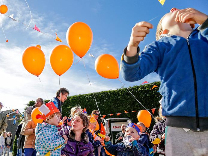 Ballonnen leuk, zoals hier in Woerdense Verlaat in 2015? De antiballonnenlobby wijst op milieuschade.