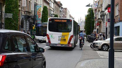 Enkel nog stadsbussen door centrum?