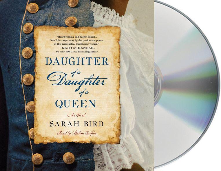 De omslag van Daughter of a Daughter of a Queen, het luisterboek.  Beeld