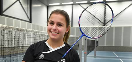 Na blessureleed staat badmintonster Ella Peters eindelijk weer op de baan