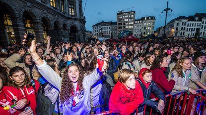 2.000 jongeren vieren Dag van de Jeugdbeweging op Astridplein