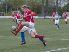 Uitslagen en doelpuntenmakers amateurvoetbal zaterdag 29 april