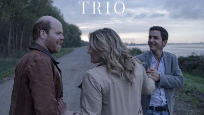 TRAILER. De eerste beelden van 'Trio', met Matteo Simoni, Ruth Beeckmans en Bruno Vanden Broecke