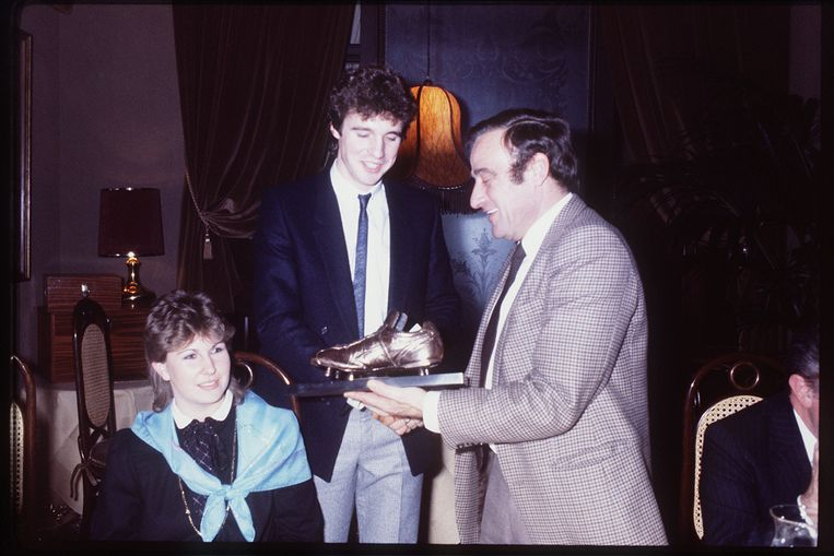 Erwin Vandenbergh won de Gouden Schoen in 1981.