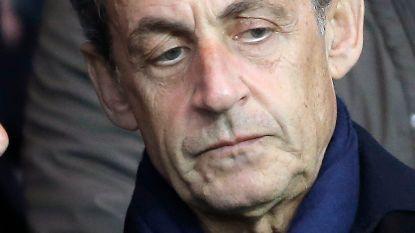 Sarkozy weer vrij, maar in beschuldiging gesteld