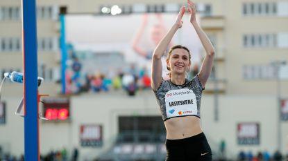 Hoogspringster Maria Lasitskene roept Russische atletiekofficials op om op te stappen