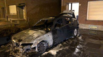 BMW in brand gestoken in Reet