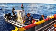 Libische kustwacht redt 120 migranten