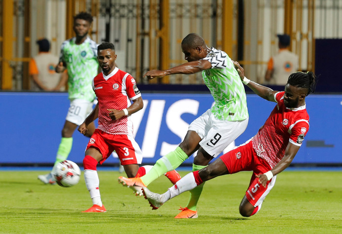 Matchwinner namens Nigeria: Odion Ighalo.