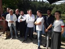 Wie het niet zo breed heeft, mag 'Vis aan het water' in Oisterwijk openen