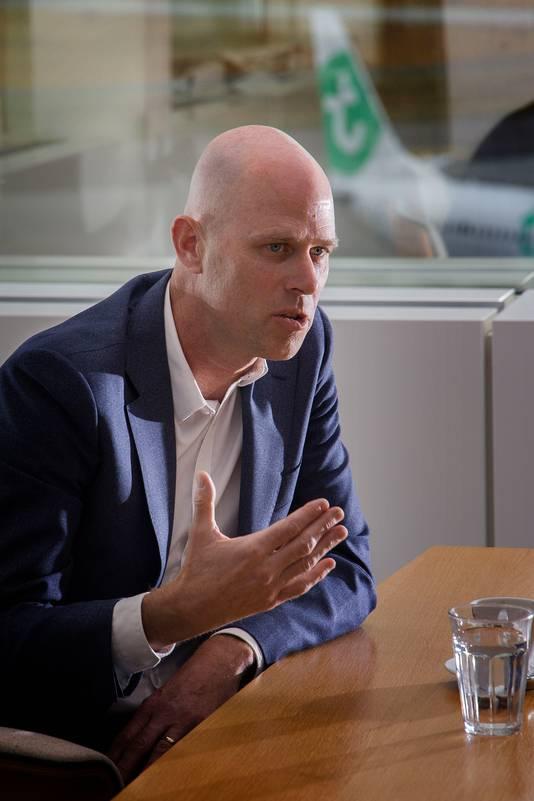 Eindhoven Airport-directeur Roel Hellemons.