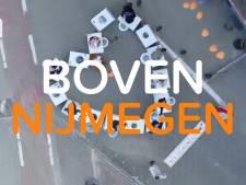 De #NLblijftthuis-drone vliegt zaterdag over Nijmegen