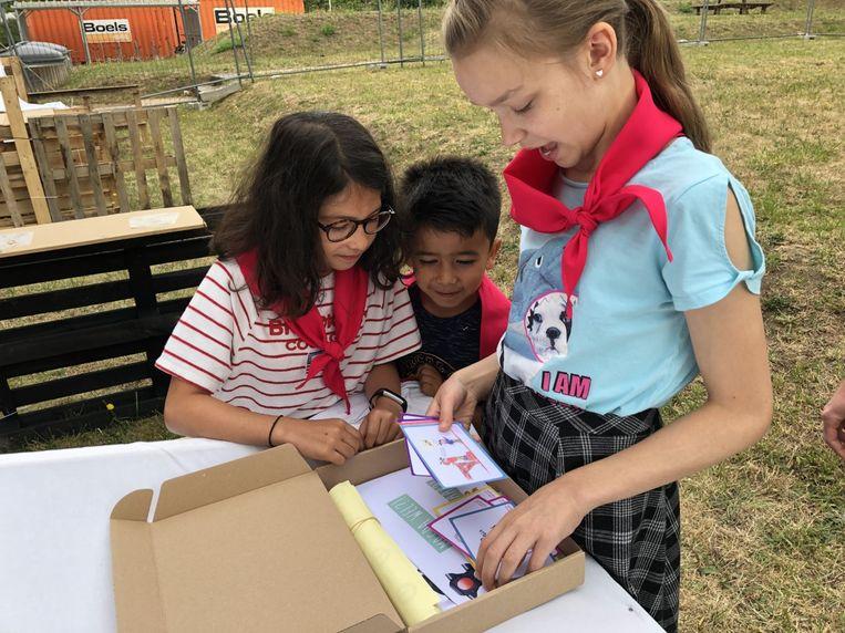 De kinderen van Stekelbees in Wijgmaal leren spelenderwijs omgaan met gevaren