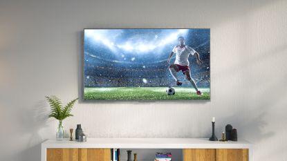 Op deze televisies komt een potje voetbal het beste tot zijn recht
