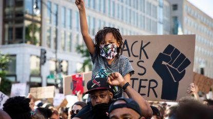Vreedzame demonstratie tegen raciaal geweld in Washington stemt zelfs Trump tevreden, wel schermutselingen in Seattle