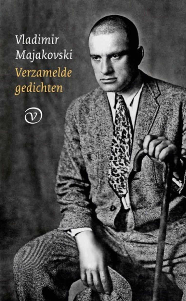 Voorkant van het boek met verzamelde gedichten van Vladimir Majakovski. Deze editie biedt meer dan ooit: liefdesgedichten, strijdliederen, en ondeugende lolligheidjes.  Beeld null